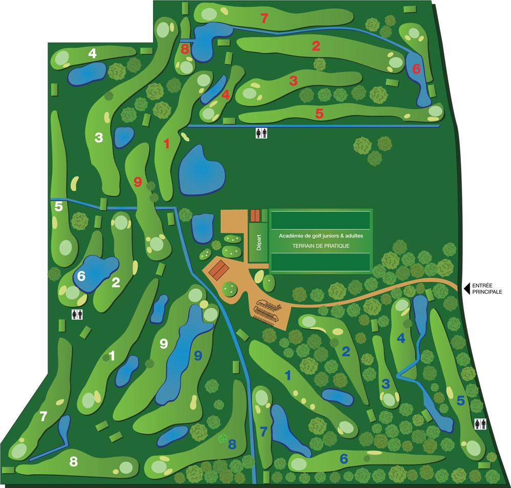 Parcours - Centre de Golf Lanaunière